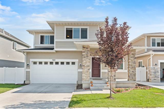 969 W Teal Run Way S, South Salt Lake, UT 84119 (#1692882) :: Doxey Real Estate Group