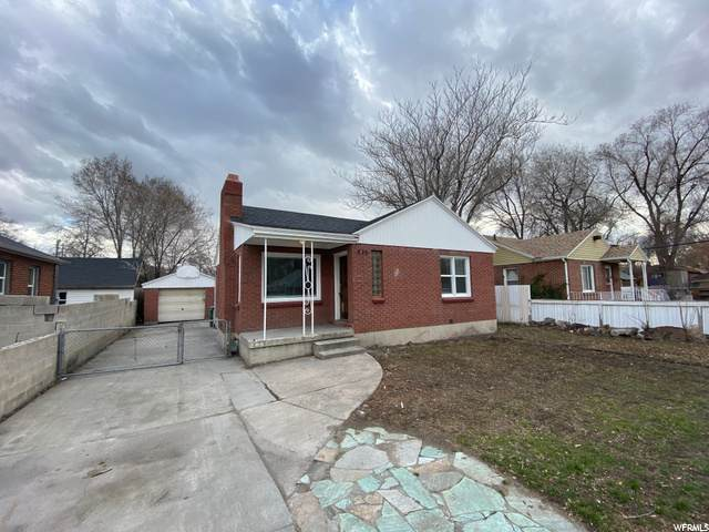 809 W Dalton Ave, Salt Lake City, UT 84104 (#1693946) :: Colemere Realty Associates