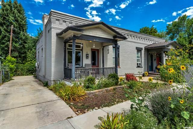 963 E Herbert Ave, Salt Lake City, UT 84105 (#1694930) :: EXIT Realty Plus
