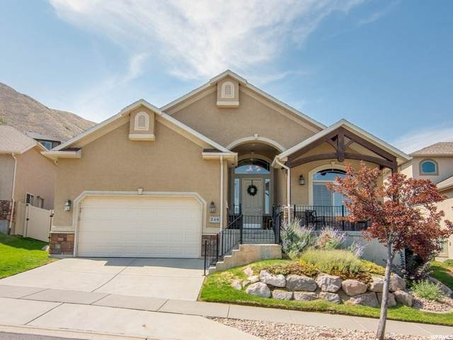 248 E Gold Leaf Cir S, Draper, UT 84020 (#1696267) :: Big Key Real Estate