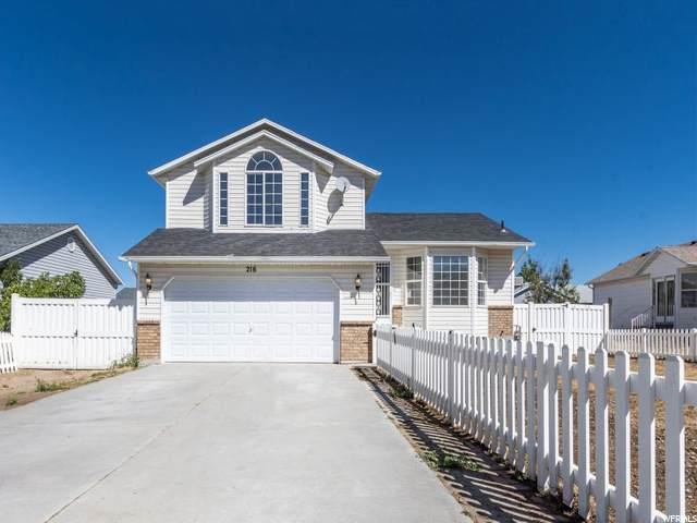 216 W 700 N, Tooele, UT 84074 (MLS #1698970) :: Lookout Real Estate Group