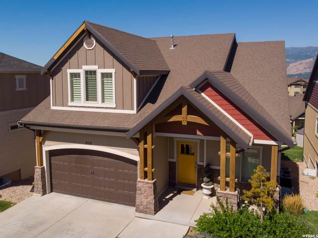 213 E Edgecrest Ln, North Salt Lake, UT 84054 (#1699095) :: Big Key Real Estate