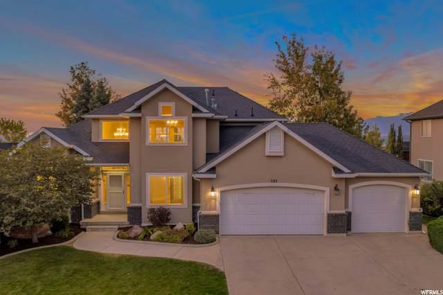 591 E Treven Pl S, Draper, UT 84020 (#1701153) :: Big Key Real Estate