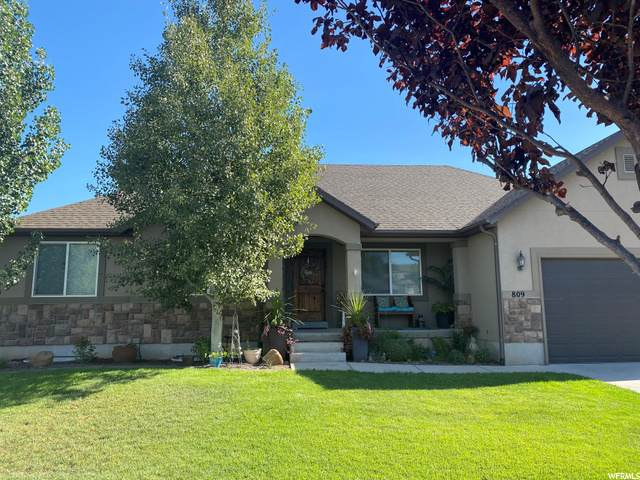 809 S River Rdg, Spanish Fork, UT 84660 (#1701192) :: Doxey Real Estate Group