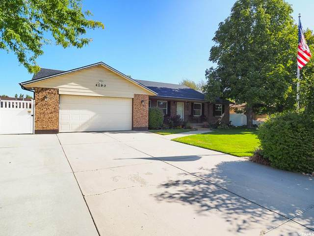 4190 W Benarmine Cir, South Jordan, UT 84009 (#1701322) :: Big Key Real Estate