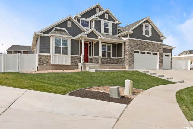 7363 W New Flaxton Ct, West Jordan, UT 84081 (#1701521) :: Powder Mountain Realty