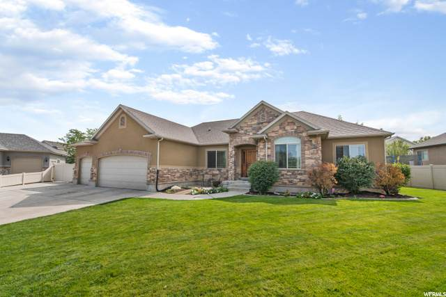 8694 S Cajean Cir, West Jordan, UT 84088 (#1701534) :: Big Key Real Estate