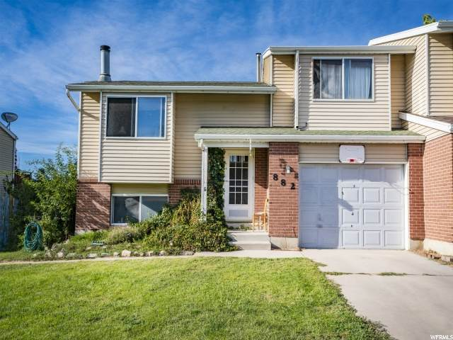882 W Summer Tree Dr, West Bountiful, UT 84087 (#1701793) :: Colemere Realty Associates