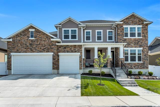 1032 E Deer Heights Ct, Draper, UT 84020 (#1702168) :: goBE Realty