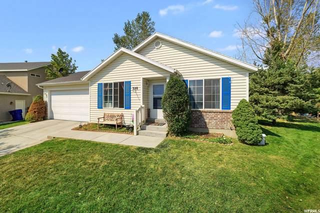 328 W Peach Pl, Saratoga Springs, UT 84045 (#1702237) :: Powder Mountain Realty