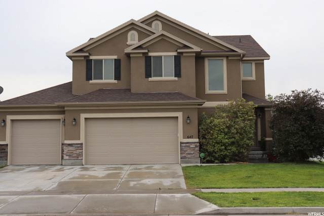 647 W Mulberry St, Stansbury Park, UT 84074 (#1702538) :: Colemere Realty Associates