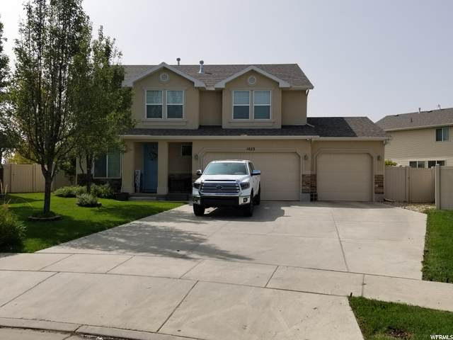 1023 Newham Ct, North Salt Lake, UT 84054 (#1702751) :: Powder Mountain Realty