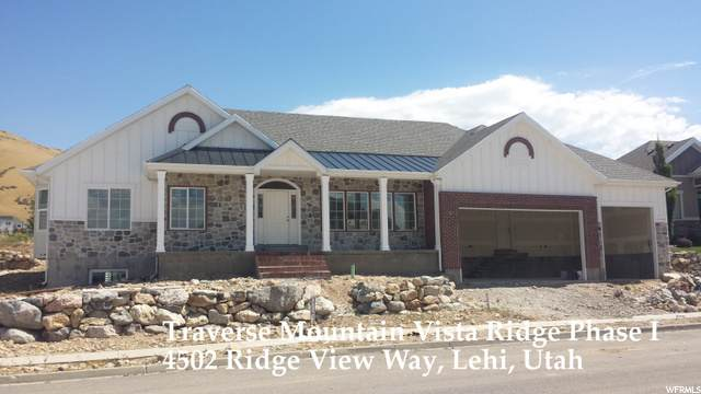 4502 N Ridge View Way #20, Lehi, UT 84043 (#1703087) :: Big Key Real Estate