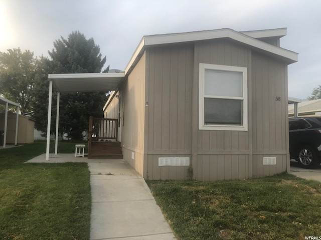 1111 N 2000 W #58, Ogden, UT 84404 (#1703822) :: Bustos Real Estate | Keller Williams Utah Realtors