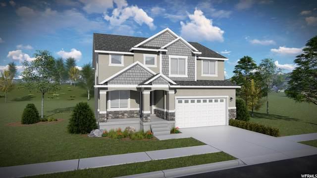 446 E Gilbert Peak Way #808, Eagle Mountain, UT 84005 (#1704259) :: Bustos Real Estate | Keller Williams Utah Realtors
