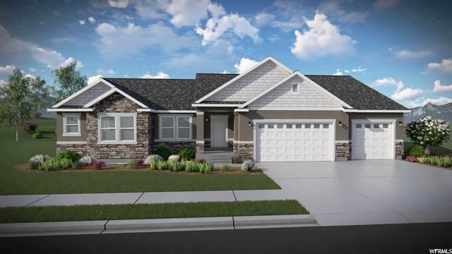 414 E Gilberrt Peak Way #810, Eagle Mountain, UT 84005 (#1704280) :: Bustos Real Estate | Keller Williams Utah Realtors