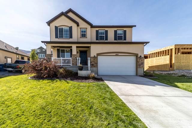 2837 S Gray Fox Ave #411, Saratoga Springs, UT 84045 (#1704397) :: Powder Mountain Realty