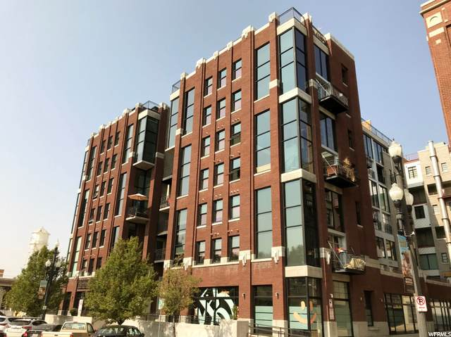 360 W Broadway #613, Salt Lake City, UT 84101 (#1705525) :: The Perry Group