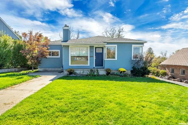 1422 E Sunnyside Ave, Salt Lake City, UT 84105 (#1706936) :: McKay Realty