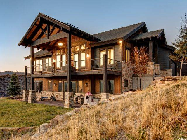 1511 Crescent Dr N, Park City, UT 84098 (#1706982) :: Powder Mountain Realty