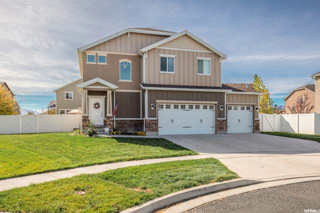 665 W Tribeca Way, Stansbury Park, UT 84074 (#1708015) :: Doxey Real Estate Group