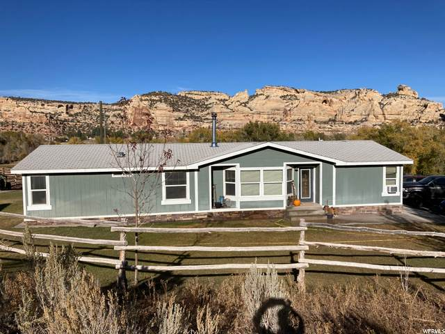 5868 N Dry Fork Canyon Rd, Vernal, UT 84078 (#1708480) :: Exit Realty Success
