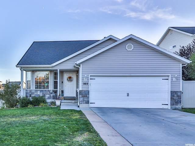 303 W Peach Pl, Saratoga Springs, UT 84045 (#1708842) :: Powder Mountain Realty