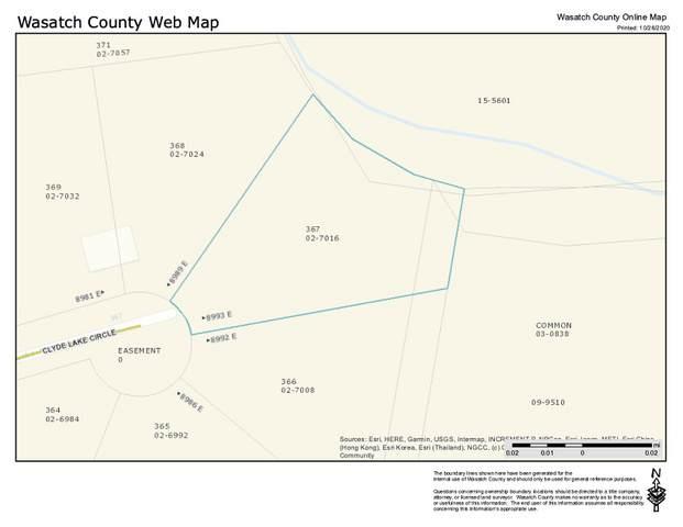 8993 E Clyde Lake Cir, Heber City, UT 84032 (MLS #1709734) :: Jeremy Back Real Estate Team