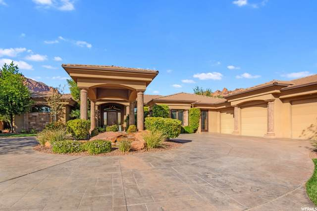 1014 E Grandview Dr, Ivins, UT 84738 (#1709803) :: Doxey Real Estate Group