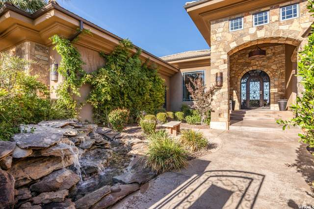 2097 E Cliff Point Dr, St. George, UT 84790 (#1710484) :: Berkshire Hathaway HomeServices Elite Real Estate