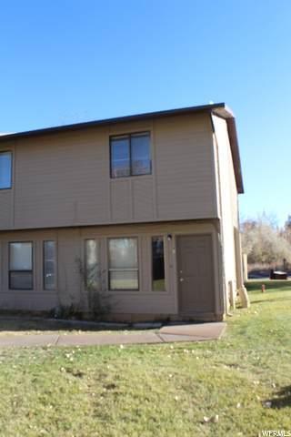 1200 N 100 W #43, Vernal, UT 84078 (MLS #1710664) :: Lookout Real Estate Group