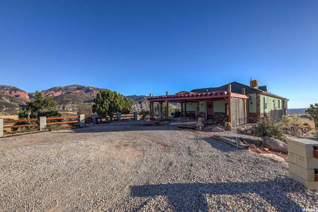 1446 S Taylor Mountain Rd, Kanarraville, UT 84742 (#1710971) :: Exit Realty Success