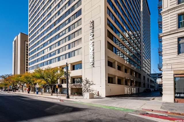 44 W Broadway 1005S, Salt Lake City, UT 84101 (#1711037) :: Exit Realty Success