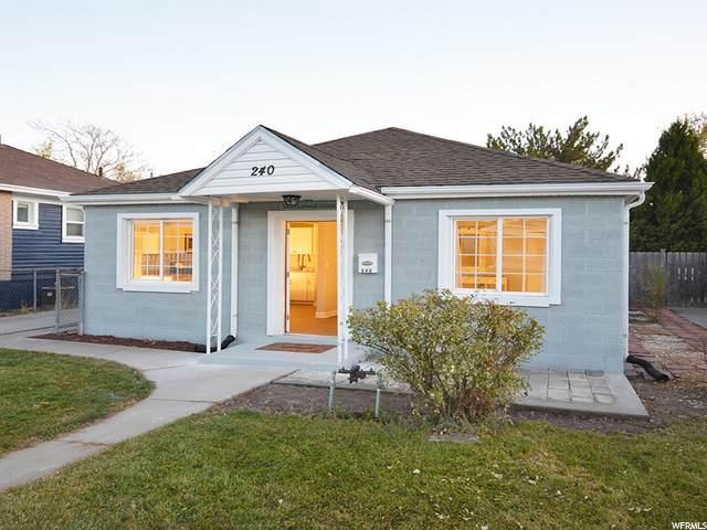 240 E 2700 S, Salt Lake City, UT 84115 (#1711574) :: Bustos Real Estate | Keller Williams Utah Realtors