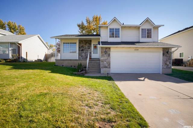 439 W Creekside Ln, Kaysville, UT 84037 (#1711611) :: The Perry Group