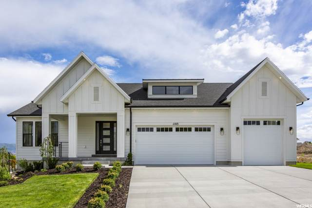 1121 W Thursby Ct S #128, West Jordan, UT 84088 (MLS #1711804) :: Jeremy Back Real Estate Team