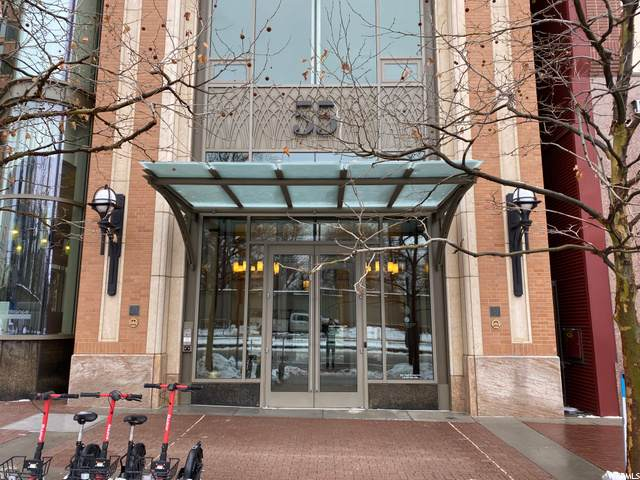 55 W South Temple S #803, Salt Lake City, UT 84101 (#1712483) :: Exit Realty Success