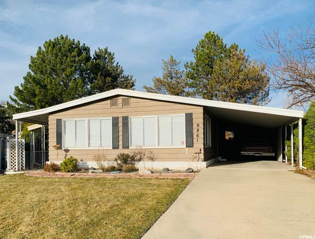 9861 S Evening Moon Way W, Sandy, UT 84070 (#1713640) :: Exit Realty Success
