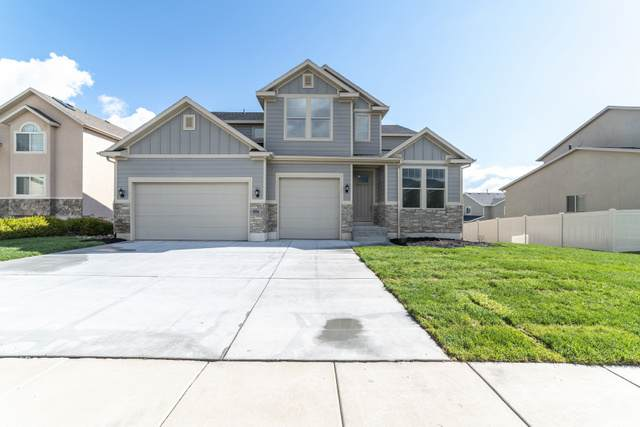 583 W Deer Meadow Dr, Saratoga Springs, UT 84045 (#1714071) :: The Perry Group
