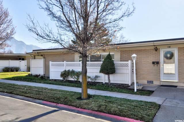 3558 S 805 E #108, Salt Lake City, UT 84106 (MLS #1714303) :: Jeremy Back Real Estate Team