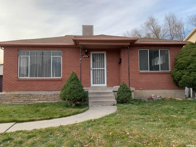 4974 S Glenn St, Salt Lake City, UT 84107 (#1714692) :: Colemere Realty Associates
