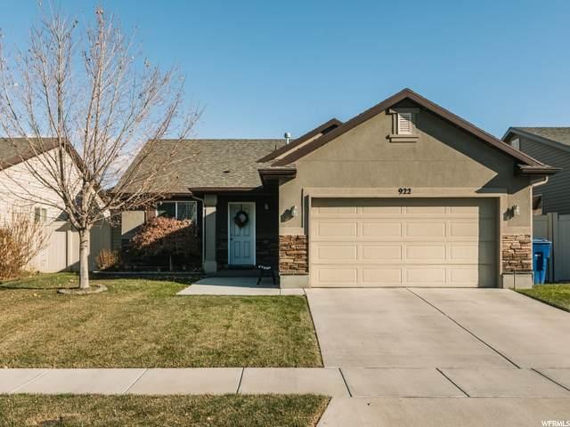 922 N Hillingdon Ct W, North Salt Lake, UT 84054 (#1715189) :: Big Key Real Estate