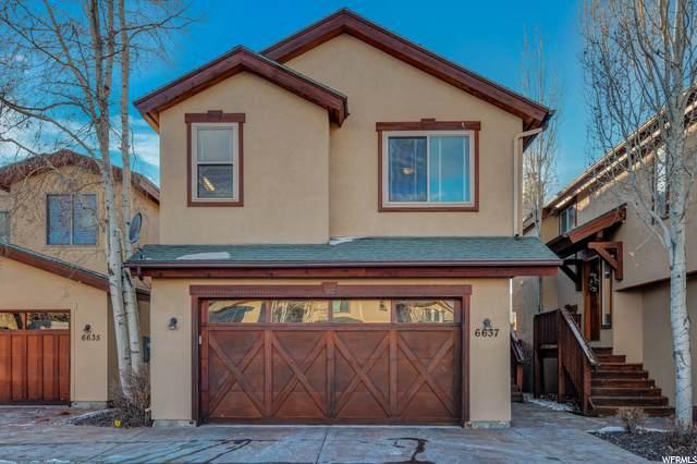 6637 S Trout Creek Ct E #21, Park City, UT 84098 (#1715367) :: Big Key Real Estate