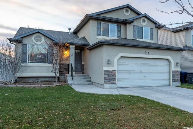 273 N Boston Dr W, North Salt Lake, UT 84054 (#1715457) :: Big Key Real Estate
