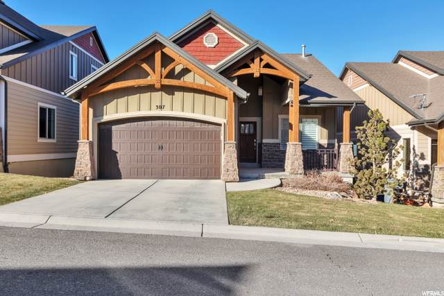 307 Bella Vida Dr, North Salt Lake, UT 84054 (#1715582) :: Big Key Real Estate