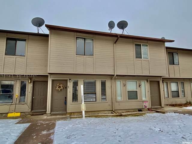 1200 N 100 W #46, Vernal, UT 84078 (MLS #1717333) :: Lookout Real Estate Group