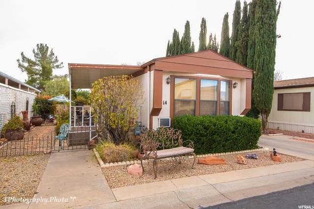 1360 N Dixie Downs Rd #14, St. George, UT 84770 (#1717691) :: Utah Best Real Estate Team | Century 21 Everest