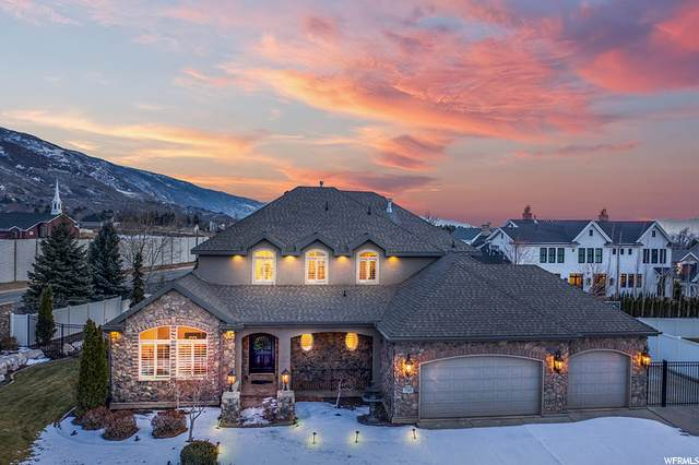 1244 E Bella Vista Dr N, Fruit Heights, UT 84037 (#1718569) :: Powder Mountain Realty
