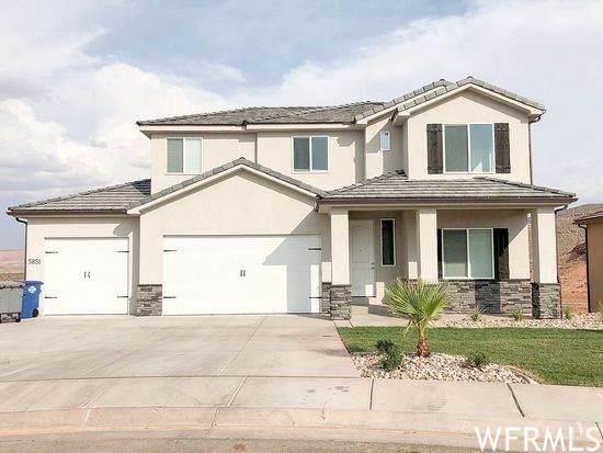 5851 S Kastra Ln, St. George, UT 84790 (#1723355) :: Bustos Real Estate | Keller Williams Utah Realtors