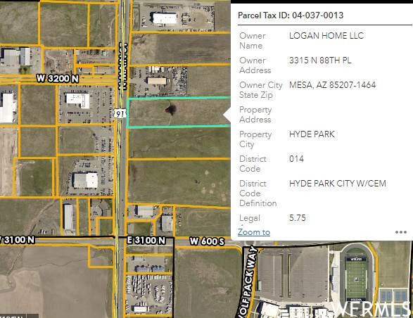 Address Not Published, Hyde Park, UT 84318 (#1729547) :: REALTY ONE GROUP ARETE